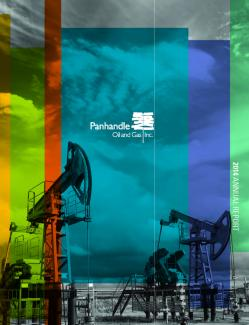 Cover of the 2014 Annual Report for Panhandle Oil and Gas Inc.